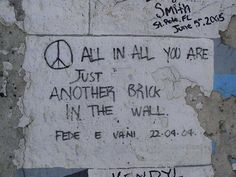 pink floyd lyrics | pink floyd pink floyd lyrics on the berlin wall almost made me cry ...