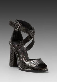 KELSI DAGGER Blanca Heel in Black