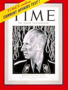 TIME Cover: Reinhard Heydrich. Feb. 23, 1942