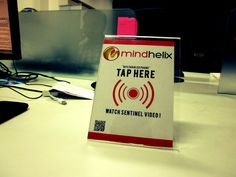 Youtube video NFC stand mindhelix.com