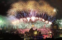 australia, fireworks, bridg, travel, new years eve, opera house, year eve, first place, sydney
