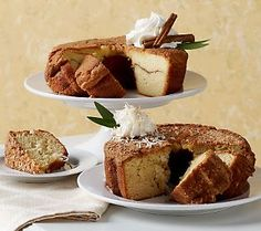 This coffee cake is great for breakfast, snack or dessert.