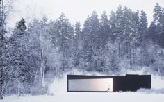 :: ARCHITECTURE :: William O'brien Jr: Twins – Houses In Five Parts,   August 29, 2011 Published by Denis Kovalev  Covet this structure, it relationship to site and the expanse of frameless glazing, absolutely beautiful #architecture