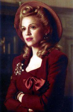 Madonna as Evita.