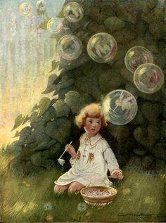bubbl fairi, franc tipton, fairies, dream, art, blow bubbl, france, blowing bubbles, tipton hunter