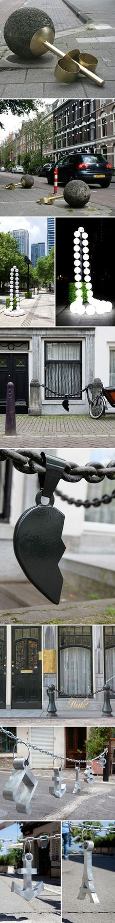 Netherlands artist Liesbet Bussche is taking her love for jewelry to the next level. SO COOL!