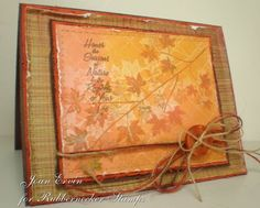 Stamping with Water - by Joan Ervin. See the website for easy directions!