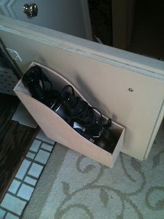 Magazine file/holder to store your hair dryer and/or curling iron