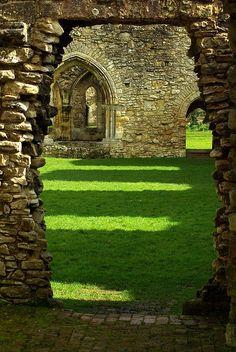 Netley Abbey,  Southampton in Hampshire, England