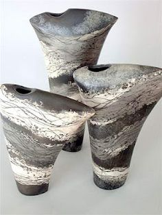 handbuilt ceramic vessels. slab construction.
