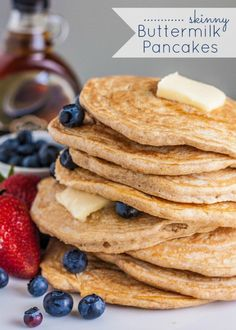 skiiny buttermilk pancake