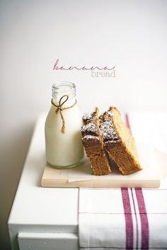 BANAN BREAD with pea