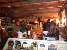 Busy night at Candlelight Open House at #HistoricHannasTown #Greensburg #PA  http://www.westmorelandhistory.org/index.cfm