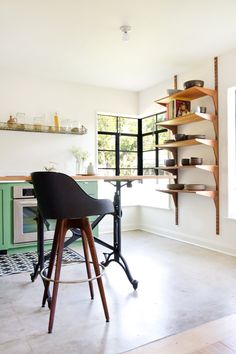 Allison Burke's Modern Mix-shelves