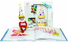 Ah! So CUUUUTTTE! The Elf on The Shelf now has a Birthday Elf :) SO have to grab this for my kids-they love their Christmas one!