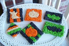 holiday, fall recipes, rice krispies treats, food coloring, krispie treats, halloween treats, krispi treat, halloween rice, rice crispy treats