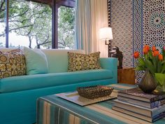 Transitional Living-rooms from Martin Kobus on HGTV