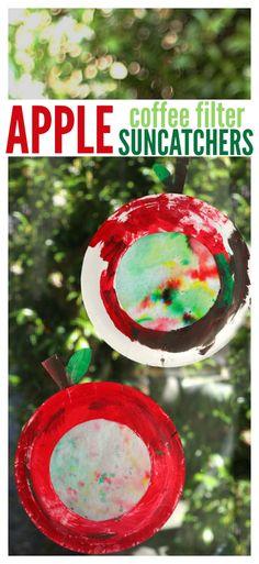 easy apple craft for preschool