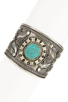 Turquoise cuff ifran cuff, fashion, style, accessori, turquoise cuff, baubl, turquois cuff, cuffs, jewelri