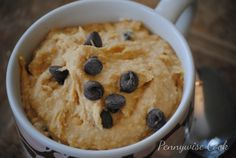This is Cookie Dough in a DIP! And it's healthy too!