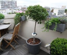 Astuces d co on pinterest Deco balcon appartement