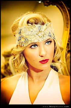 Hair and makeup by Beaute Speciale #Great #Gatsby #Makeup