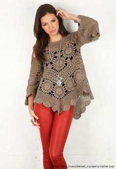 Lacy tunic