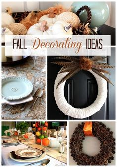 Just a Girl fall decorating