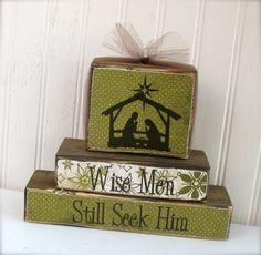 Cute wooden blocks!!