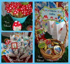 Smurf Party Favors #smurf #partyfavors