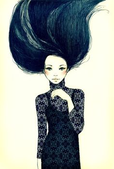 Joanne Young #illustration #mixed_media