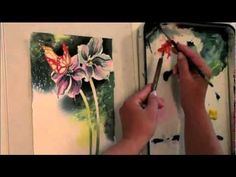 Watercolor for Beginners (Episode 1): Butterfly & Blooms with Jan Fabian Wallake