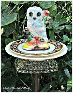 These garden jewels are found on Facebook... they are created by ~ Garden Whimsies by Mary