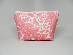 Modern Pink Makeup Bag, from etsy