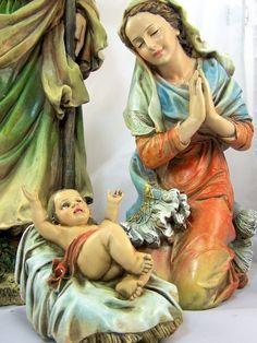 Mary, Jesus...I love Nativity Scenes