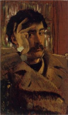Self Portrait, James Tissot, 1865.