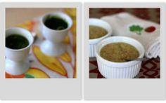 "How to make ""Green Goblin Soup"" (i.e. spinach & broccoli-cheddar soups)"