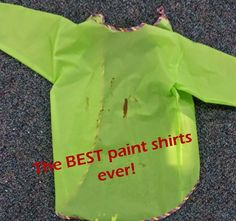 Why these are the best paint shirts ever, and where to order them! These shirts seriously rock.