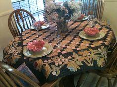 My mother's quilt, Kim Diehl design.