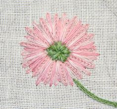 The Unbroken Thread: Tutorial - Shade of Pink