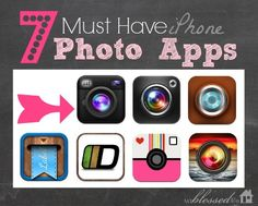 7 Must Have iPhone Photo Apps | MyBlessedLife.net