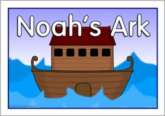 Noah's Ark story visual aids (SB457) - SparkleBox