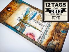 tags, challenges, tutorials, heart, 12 tag, markers, art journals, tim holtz, blog