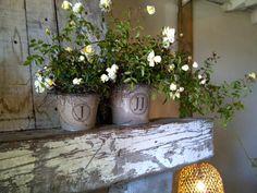 burlap bucket, burlap monogram, buckets, flower centerpieces, custom burlap, flowers, monogram custom, wedding centerpieces, elegant wedding