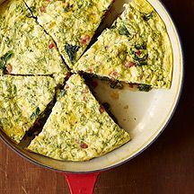 Greek Frittata with Feta and Dill