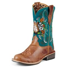 Ariat's RODEOBABY RELIC Ladies cowboy boots http://www.thenorthcarolinacowgirl.com/2012/everyday-cowboy-boots-from-ariat