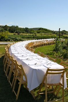 Farm to table.