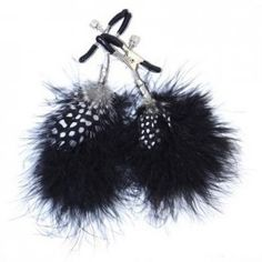 Fetish Fantasy Feather Nipple Clamps #nippleclamps #nipple #clamp