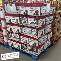 ATTENTION #Costco Shoppers: Our #DarkChocolate #Almond flavor is now FEATURED this month at ALL of your local #Costco clubs starting today! #barkTHINS #snackingchocolate #nongmo #fairtrade www.facebook.com/barkTHINS