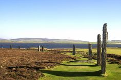 Orkney - Standing Stones at Brodgar